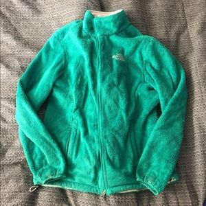 Green women's north face
